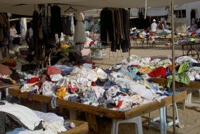 So sollte ein Klamottenladen nicht aussehen.