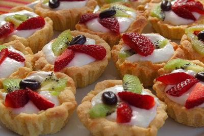 Kleine Kuchenformen - geringere Backzeit.