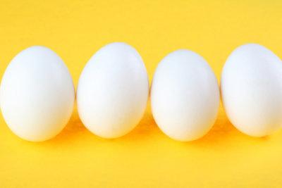 Das sind die perfekten Eier.