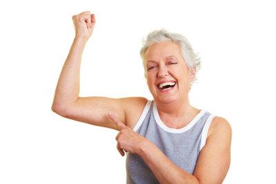 Trainieren Sie die Arme regelmäßig.