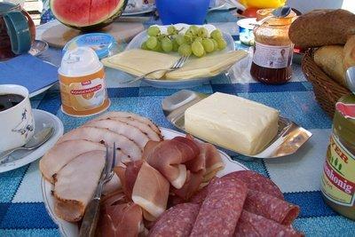 Deutsches Frühstück - einfach lecker.