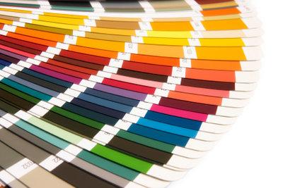 Die Farbauswahl ist groß.