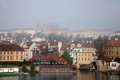 Prag war Schauplatz revolutionärer Vorkommnisse.