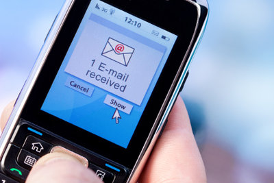 Gehen Sie mit dem Handy online.