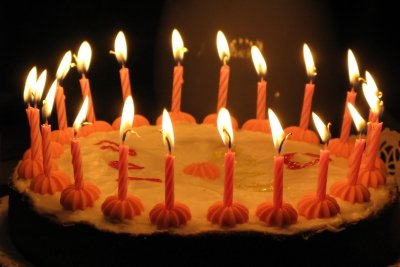 Der 40. Geburtstag möchte gefeiert werden.