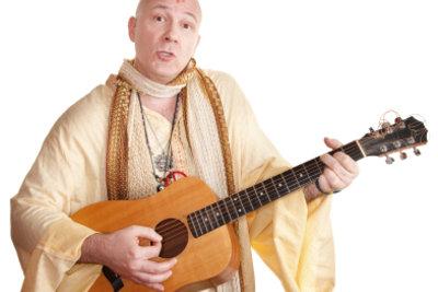 Sie spielen gern Hippie-Lieder?