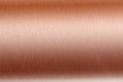 Lackfolie gibt es auch in Kupfer.