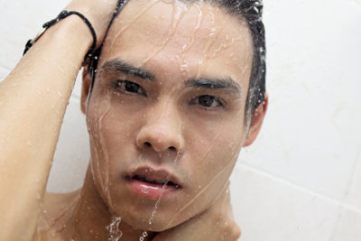 Duschen ist wichtig für Ihr Wohlbefinden.