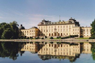 Ausflug zum Schloss Drottningholm.