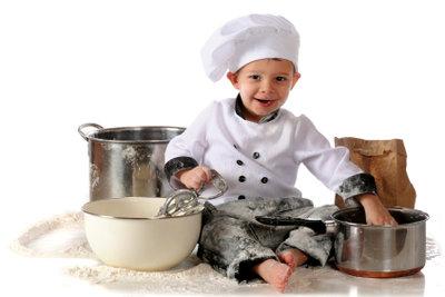 Ein jeder Koch trägt weiß.