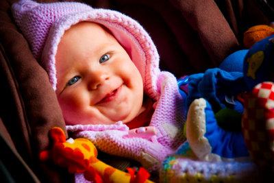 Kuschelige Kleidung aus Babywolle.