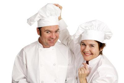 Zu einem Koch gehört korrekte Kleidung