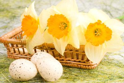 Basteln zu Ostern.