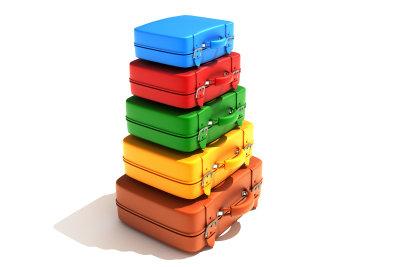 Koffergrößen müssen der persönlichen Vorliebe entsprechen.