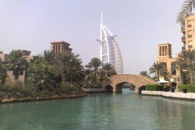 Eines der Wahrzeichen von Dubai