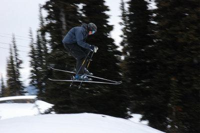 Ski fahren macht Spaß.