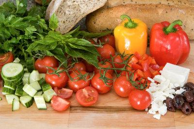 Gemüse hilft beim Entsäuern.