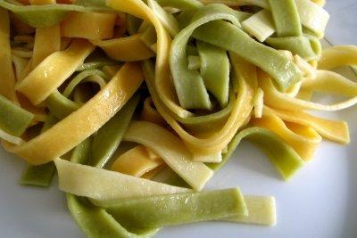 Pasta selbst herstellen - gar nicht schwierig.