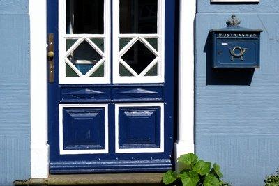 Lackierte Türen sind leicht zu reinigen.