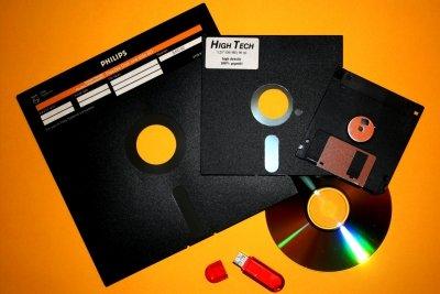 Die Diskette - Teil einer Entwicklungskette
