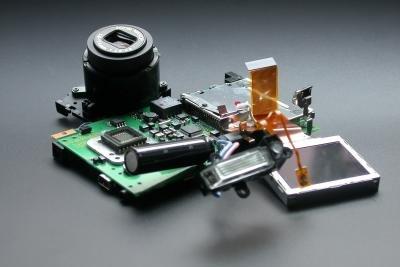 Displays in tragbaren Geräten tauschen
