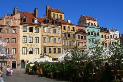 Die herrliche Altstadt von Warschau