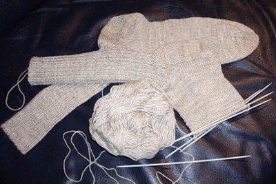 Nicht nur Socken könnten gestrickt werden.