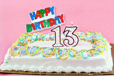 Der 13. Geburtstag ist ganz besonders!