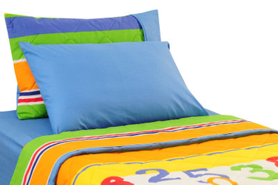 Einzelbettbezüge können meist selbst gewaschen werden.