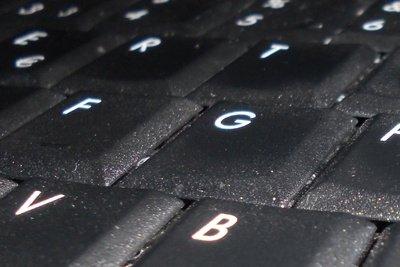 Auch Tastaturen sollten gereinigt werden.