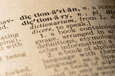 Anglizismen - manchmal hilft ein Wörterbuch.