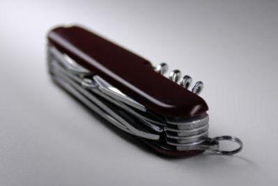 Gute Taschenmesser halten ewig