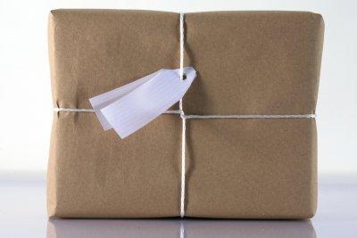Paket vom Versandhändler Amazon