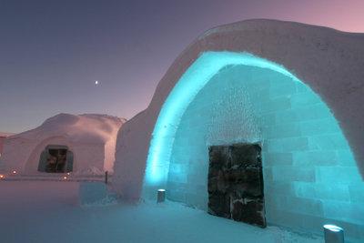 Eishotel Zugspitze
