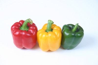 Paprika ist nicht nur als Salat lecker.