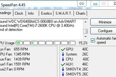 Speedfan kann die Temperatur regulieren.