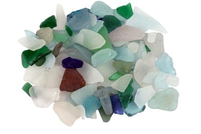 Machen Sie Schmuck aus Meerglas.
