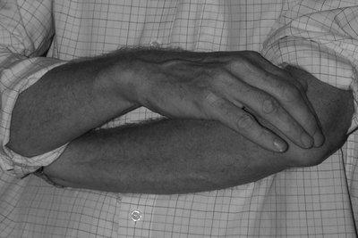 Die Hände richtig behandeln.