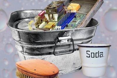 Soda ist ein altbekanntes Reinigungsmittel.
