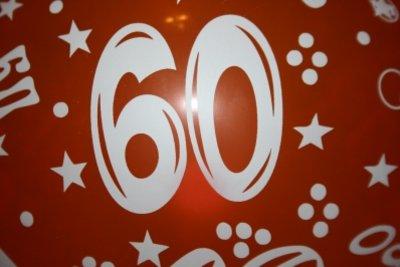 60. Geburtstag - schön zu zelebrieren