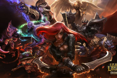 League of Legends ist ein Online-Spiel.