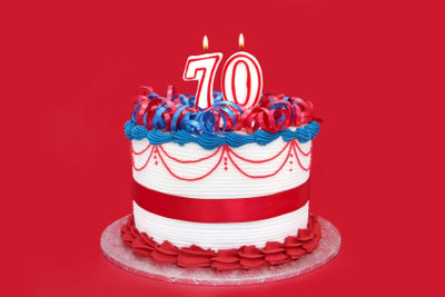 Der 70. ist ein besonderer Geburtstag.