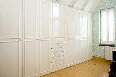 Nicht jeder hat ein großes Schlafzimmer.