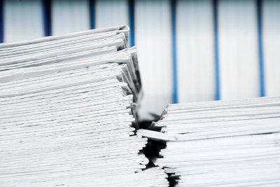 Zeitungsverlage arbeiten gern mit freien Redakteuren.