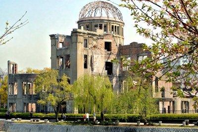 Ruine der IHK im Friedensgedächtnispark Hiroshima