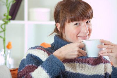 Kaffee macht munter.
