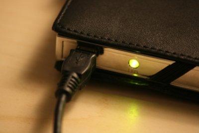 Daten mit einer externen Festplatte sichern