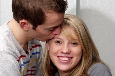 Küsse zeugen von Zuneigung und Respekt.