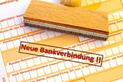 Bei Pfändung keine neue Bankverbindung erforderlich.