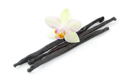 Vanille stammt von einer exotischen Pflanze.